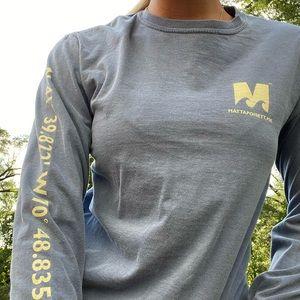 Massachusetts Mattapoisett long sleeved shirt
